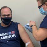 Bill gets vaccine
